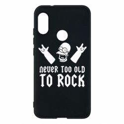 Чехол для Mi A2 Lite Never old to rock (Gomer) - FatLine