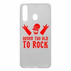 Чехол для Samsung A60 Never old to rock (Gomer)