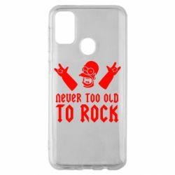 Чехол для Samsung M30s Never old to rock (Gomer)