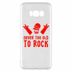 Чехол для Samsung S8 Never old to rock (Gomer) - FatLine