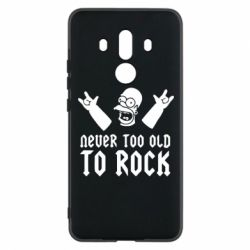 Чехол для Huawei Mate 10 Pro Never old to rock (Gomer) - FatLine