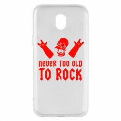 Чехол для Samsung J5 2017 Never old to rock (Gomer) - FatLine