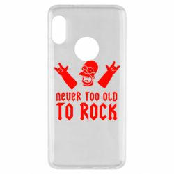 Чехол для Xiaomi Redmi Note 5 Never old to rock (Gomer) - FatLine