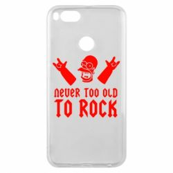 Чехол для Xiaomi Mi A1 Never old to rock (Gomer) - FatLine