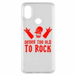 Чехол для Xiaomi Mi A2 Never old to rock (Gomer) - FatLine