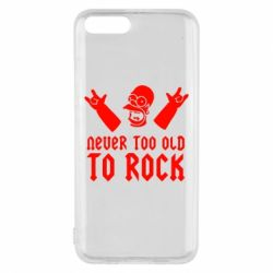 Чехол для Xiaomi Mi6 Never old to rock (Gomer) - FatLine