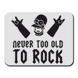 Коврик для мыши Never old to rock (Gomer) - FatLine