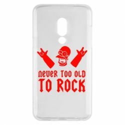 Чехол для Meizu 15 Never old to rock (Gomer) - FatLine