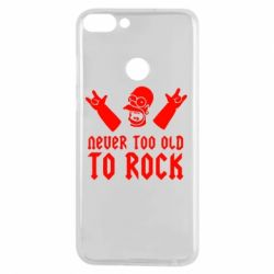 Чехол для Huawei P Smart Never old to rock (Gomer) - FatLine