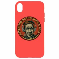 Чохол для iPhone XR Never too old to Rock n roll