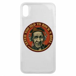Чохол для iPhone Xs Max Never too old to Rock n roll