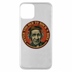 Чохол для iPhone 11 Never too old to Rock n roll