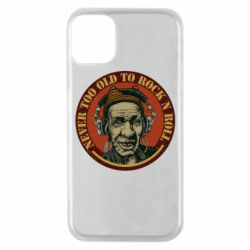 Чохол для iPhone 11 Pro Never too old to Rock n roll
