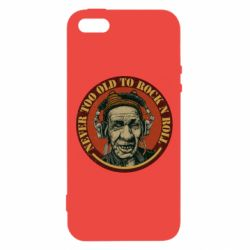 Чохол для iphone 5/5S/SE Never too old to Rock n roll