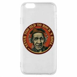 Чохол для iPhone 6/6S Never too old to Rock n roll