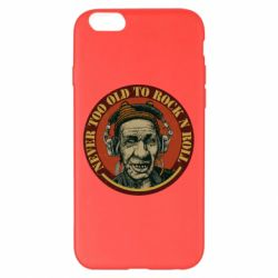 Чохол для iPhone 6 Plus/6S Plus Never too old to Rock n roll