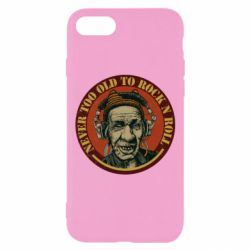 Чохол для iPhone 7 Never too old to Rock n roll