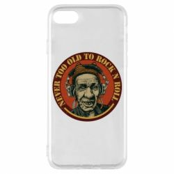 Чохол для iPhone 8 Never too old to Rock n roll