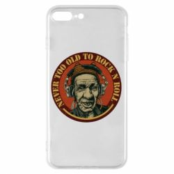 Чохол для iPhone 8 Plus Never too old to Rock n roll