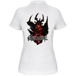 Женская футболка поло Nevermore Art