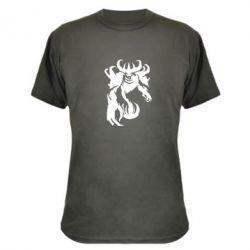 Камуфляжная футболка Nevermore - FatLine