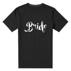 Мужская стрейчевая футболка Невеста