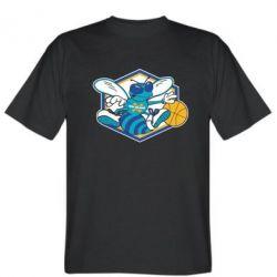 Мужская футболка New Orleans Hornets Logo - FatLine