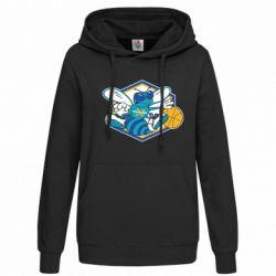Женская толстовка New Orleans Hornets Logo - FatLine