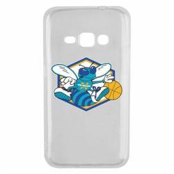 Чехол для Samsung J1 2016 New Orleans Hornets Logo - FatLine