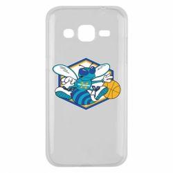 Чехол для Samsung J2 2015 New Orleans Hornets Logo - FatLine