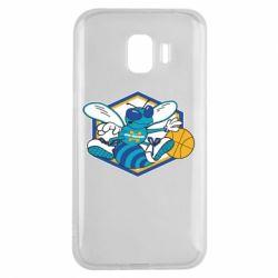 Чехол для Samsung J2 2018 New Orleans Hornets Logo - FatLine