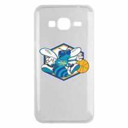 Чехол для Samsung J3 2016 New Orleans Hornets Logo - FatLine