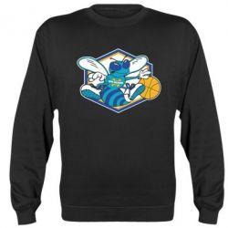 Реглан (свитшот) New Orleans Hornets Logo - FatLine