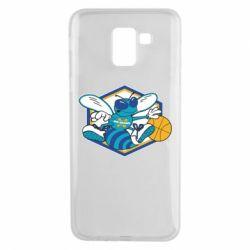 Чехол для Samsung J6 New Orleans Hornets Logo - FatLine