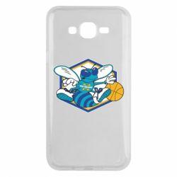 Чехол для Samsung J7 2015 New Orleans Hornets Logo - FatLine