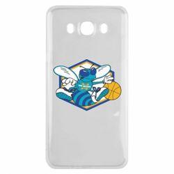 Чехол для Samsung J7 2016 New Orleans Hornets Logo - FatLine
