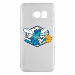 Чехол для Samsung S6 EDGE New Orleans Hornets Logo - FatLine
