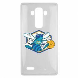 Чехол для LG G4 New Orleans Hornets Logo - FatLine