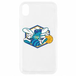 Чехол для iPhone XR New Orleans Hornets Logo - FatLine