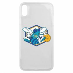 Чехол для iPhone Xs Max New Orleans Hornets Logo - FatLine