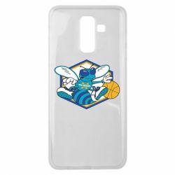 Чехол для Samsung J8 2018 New Orleans Hornets Logo - FatLine