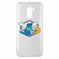 Чехол для Xiaomi Pocophone F1 New Orleans Hornets Logo - FatLine