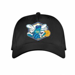 Детская кепка New Orleans Hornets Logo - FatLine