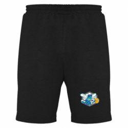 Мужские шорты New Orleans Hornets Logo - FatLine