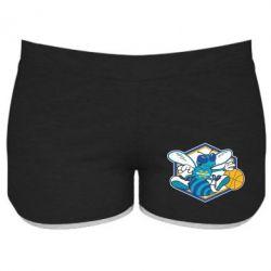 Женские шорты New Orleans Hornets Logo - FatLine