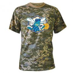 Камуфляжная футболка New Orleans Hornets Logo - FatLine