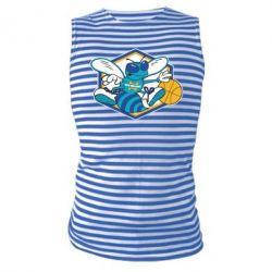 Майка-тельняшка New Orleans Hornets Logo - FatLine