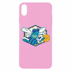 Чехол для iPhone X New Orleans Hornets Logo - FatLine