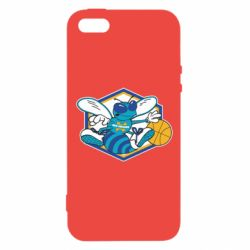 Чехол для iPhone5/5S/SE New Orleans Hornets Logo - FatLine