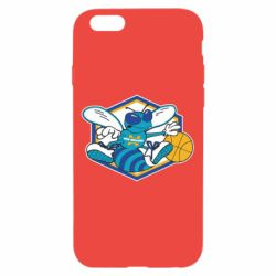 Чехол для iPhone 6/6S New Orleans Hornets Logo - FatLine